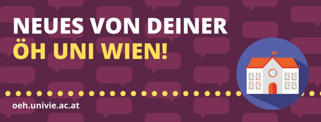 Neues von deiner ÖH Uni Wien